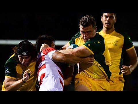 Oceania U20s: Junior Wallabies vs Japan