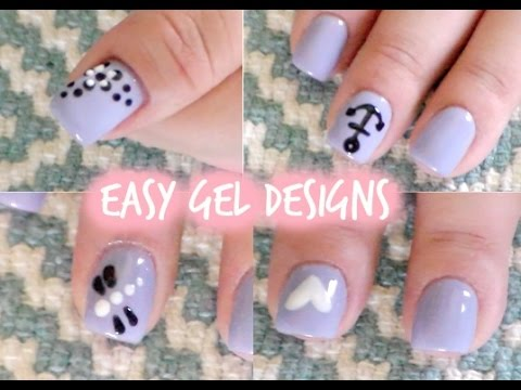 Gel Nail Designs For Beginners Tutorial