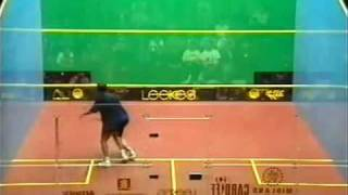 Squash Jansher Khan British Open 1996 Final 2 of 2 by a s i r a f t a b