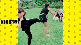 Watch keep laugh EP431 ● The funny moments 2018