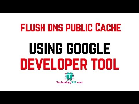 Flush Public DNS Cache Very Easy In One Minute