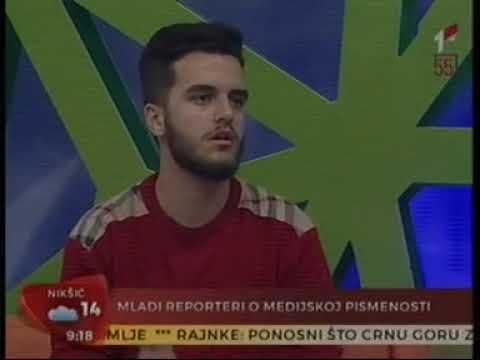 05. jun 2019. RTCG1 - Kampanja Birajmo šta gledamo, gosti Nađa Lalović i Danilo Bulatović