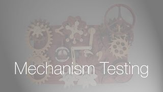 Wooden Mechanism Testing