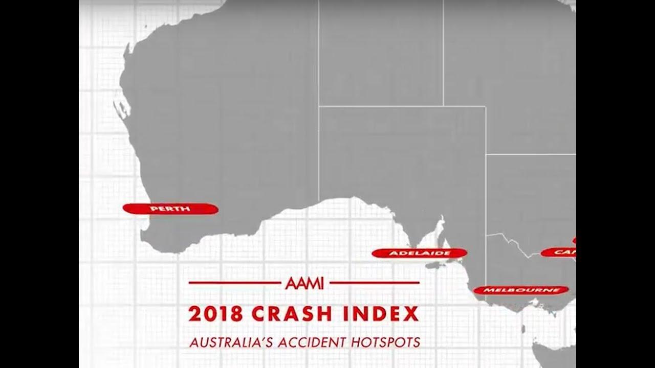 AAMI Crash Index 2018: Australia's worst crash hot spots