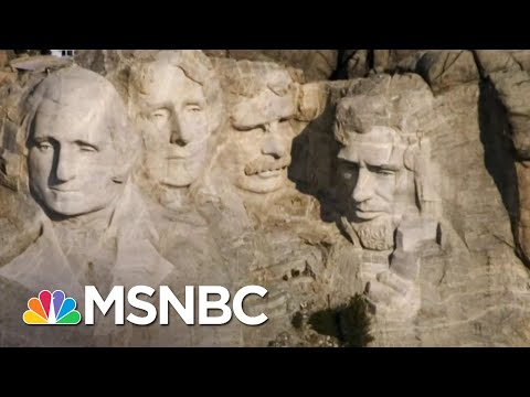 Julian Bear Runner: Trump Doesn't Have Permission To Visit Mount Rushmore | The Last Word | MSNBC