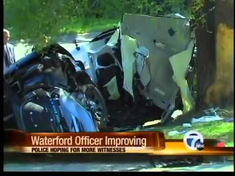 Police update officer's condition