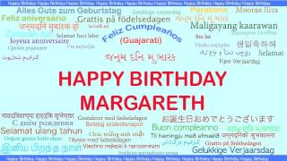 Margareth   Languages Idiomas - Happy Birthday