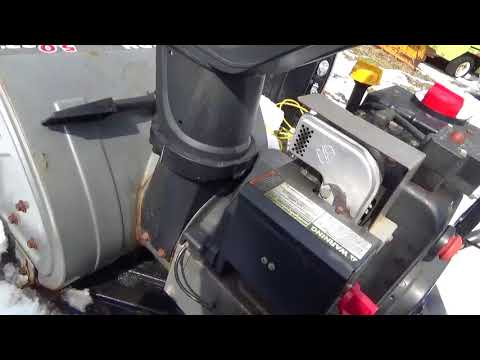 Diagnosing Drive Issue On Free Craftsman 5 22 Snow Blower