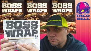 new taco bell boss wrap review 199 fully loaded steak