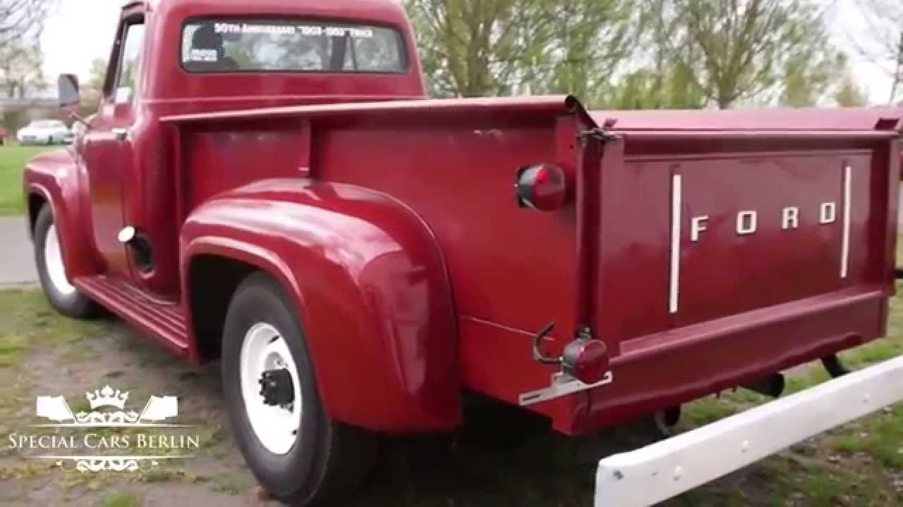 1953 Ford F250 V8 Flathead Longbed Youtube 1955 F100 Long Bed Pick Up