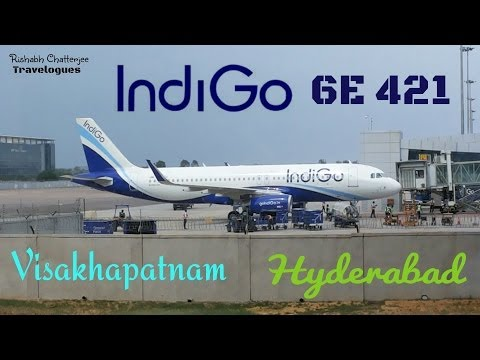 INDIGO 6E 421 Visakhapatnam - Hyderabad Travel Report
