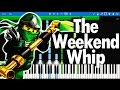 LEGO Ninjago theme song - The Fold : The Weekend Whip | Synthesia Piano Tutorial