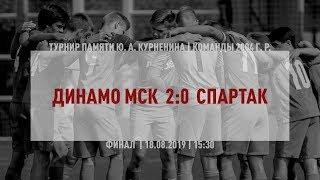 """Обзор матча """"Динамо"""" Мск. - """"Спартак"""" (2004 г. р.) 2:0"""