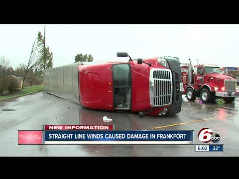 NWS: Straight line winds up to 85 mph caused Frankfort damage