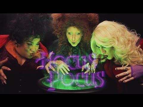 Hocus Pocus Halloween Tutorial - MannyMua