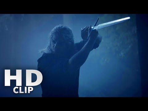 Geralt Vs Ghouls Fight Scene - The Witcher Netflix Clip