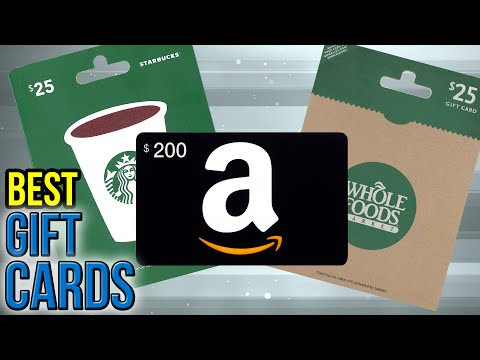 10 Best Gift Cards 2017