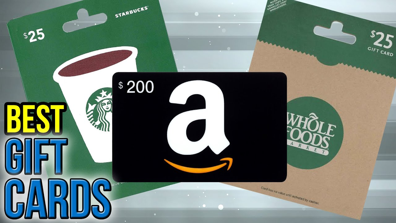 10 best gift cards 2017 - Best Place To Buy Gift Cards 2017