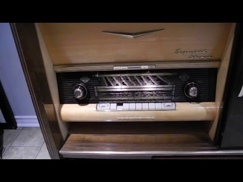 The Nordmende Exquisit 59 Stereo Tube Radio