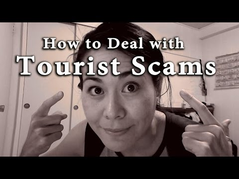 TRAVEL TIPS: HOW TO AVOID TRAVEL SCAMS