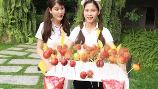 Trò Chơi Bán Hoa Quả Và Bim Bim ❤️ BABA TV ❤️