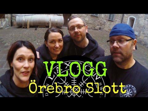 Vlogg   Örebro Slott - Vad är det som får lampan att röra sig?