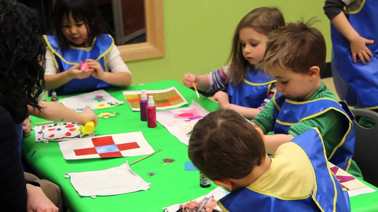 Pre Kindergarten Art Activity At Bright Horizons Youtube