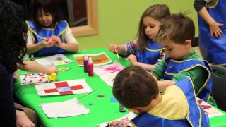 Kindergarten Prep Quilt Painting Activity