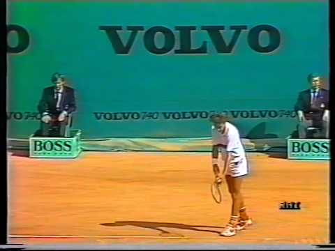 1987 Monte Carlo Open Final - Jimmy Arias vs Mats Wilander - Part 2