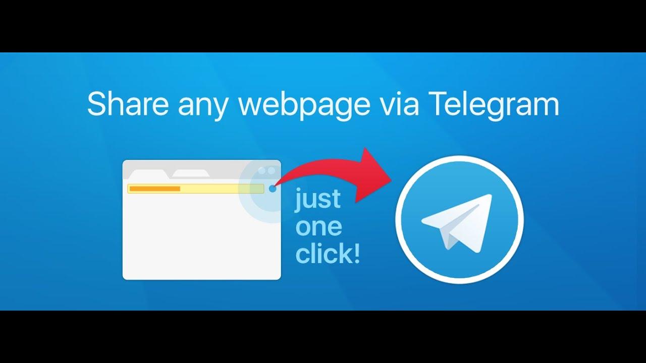 Share via Telegram demo