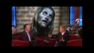 Ellen Scares The Governor! on Ellen show