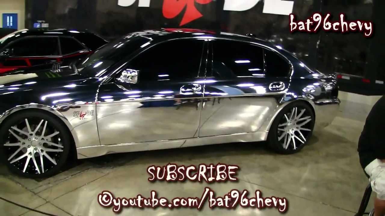 ALL CHROME BMW 745Li On 22 Forgiatos