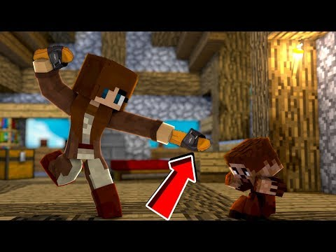 ÜVEY ANNE ARDA'yı TERLİKLE DÖVÜYOR! 😱 - Minecraft thumbnail