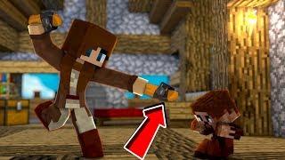 ÜVEY ANNE ARDA'yı TERLİKLE DÖVÜYOR! 😱 - Minecraft