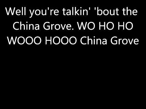 China Grove by the Doobie Brothers (with lyrics)