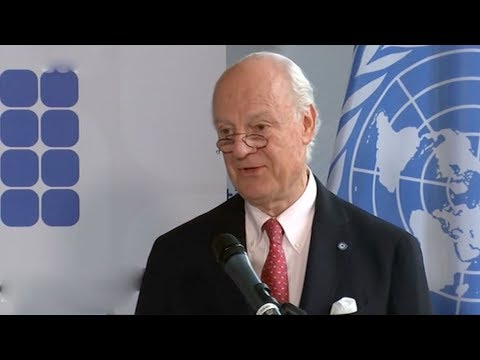 UN, EU call for peace talks on Syria conflict