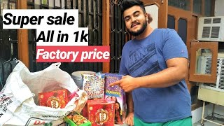 Diwali Crackers Cheapest Market | Delhi best place to buy crackers
