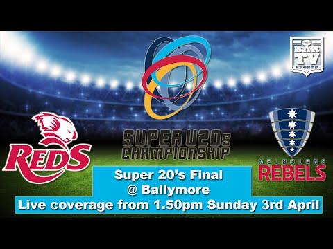 2016 Super 20's Final - QLD Reds v Melbourne Rebels