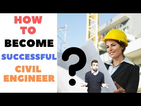 6 Tips To Become A Successful Civil Engineer. | Skyrocket Your Civil Engineering Career.