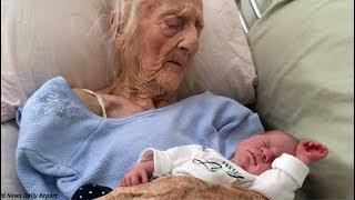 ШОК! Женщина родила в 101 год/Любопытные факты
