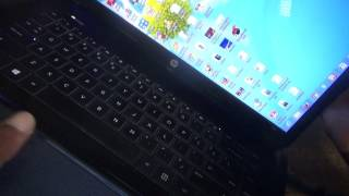 how to fix side way screen on laptop hp 2000