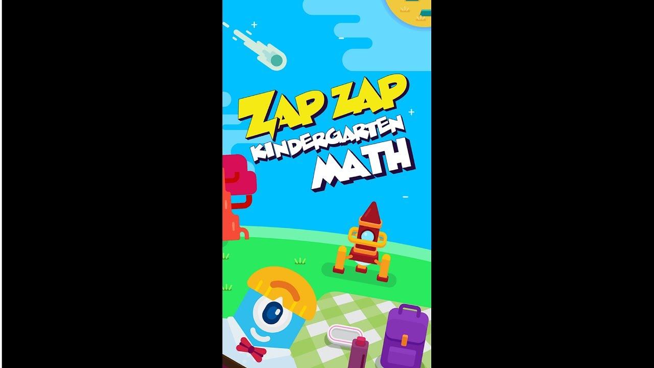 Math Educational Adventure Game | Zap Zap Kindergarten Math - YouTube