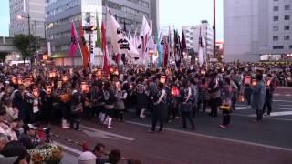 浜松まつり2014~熱気、熱気、迫力満点合同練り(5月4日) thumbnail