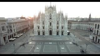 MILANO DUOMO E GALLERIA 4K DRONE SHOTS I riprese aeree drone milano