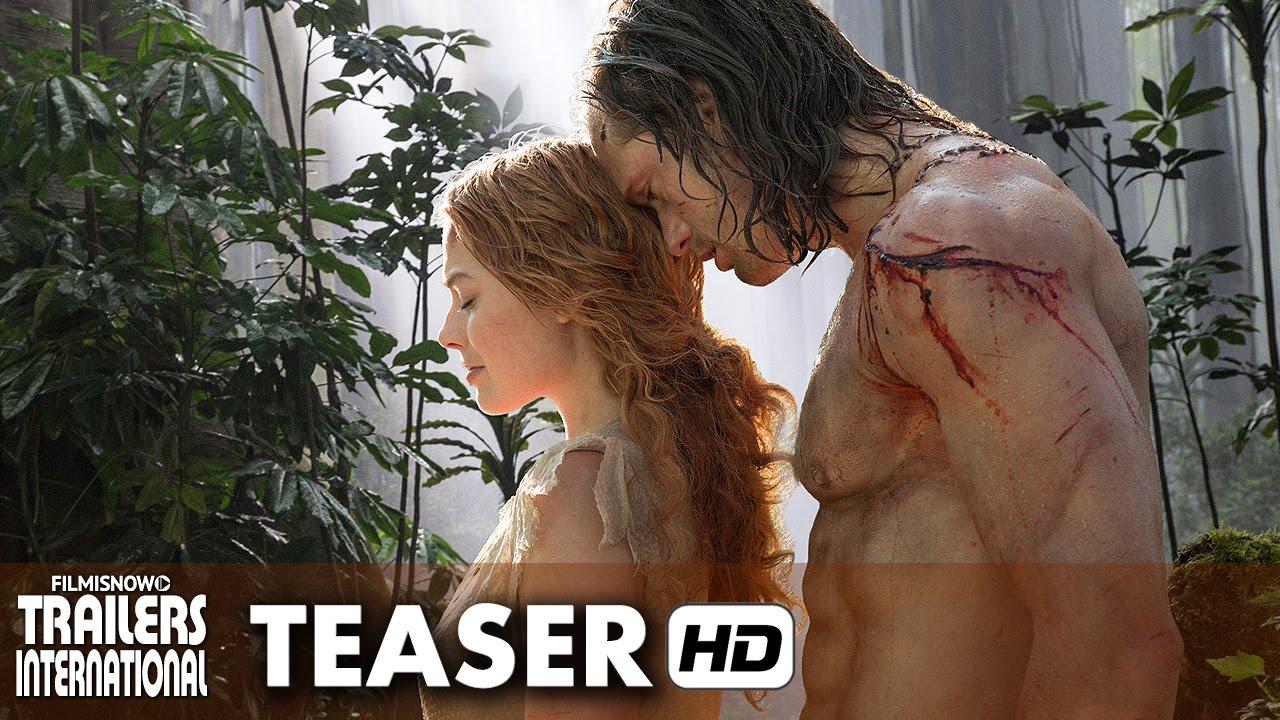A Lenda de Tarzan Trailer Teaser Oficial Legendado - Alexander Skarsgård [HD]
