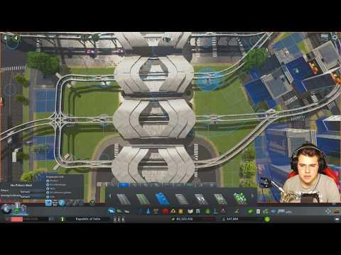 Cities: Skylines [#317] - Das Monorail Haupt-Terminal! Genial und Effizent!  Mass Transit