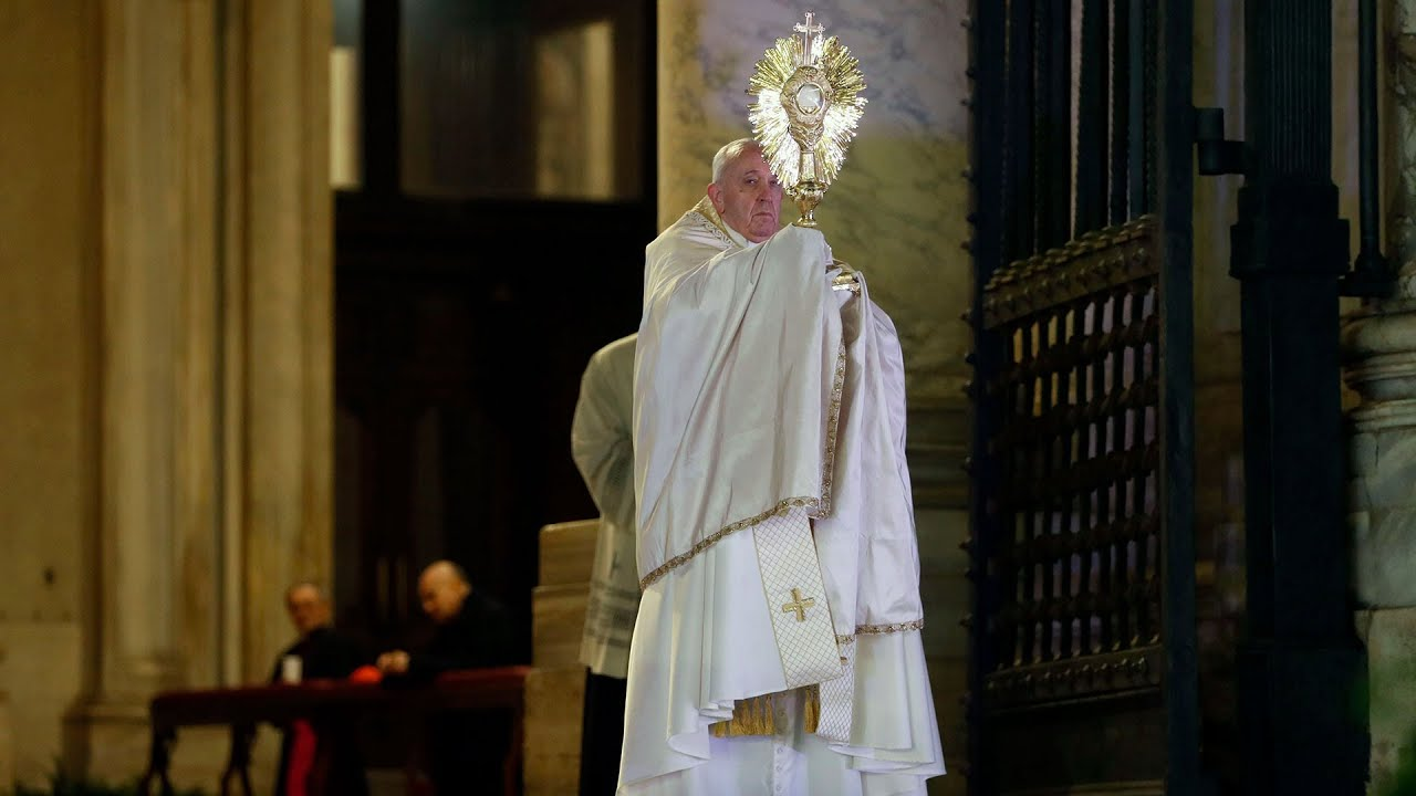 Đức Giáo hoàng Francis trong buổi ban ơn Toàn xá (Urbi et Orbi) ngày 27/3