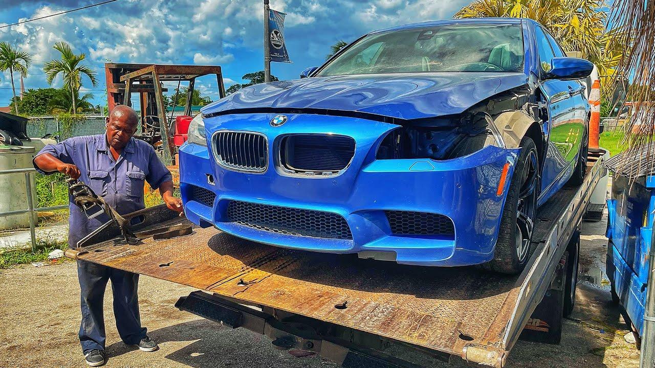 Купил BMW M5 со штрафстоянки