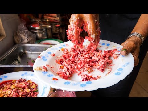 [WARNING: Raw Blood] Indonesian Food - Authentic Village Foo
