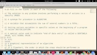 C How to Program (6th edition) - Deitel & Deitel, exercise 3-12